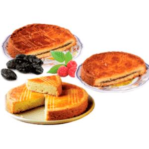 Colis de 3 gâteaux breton