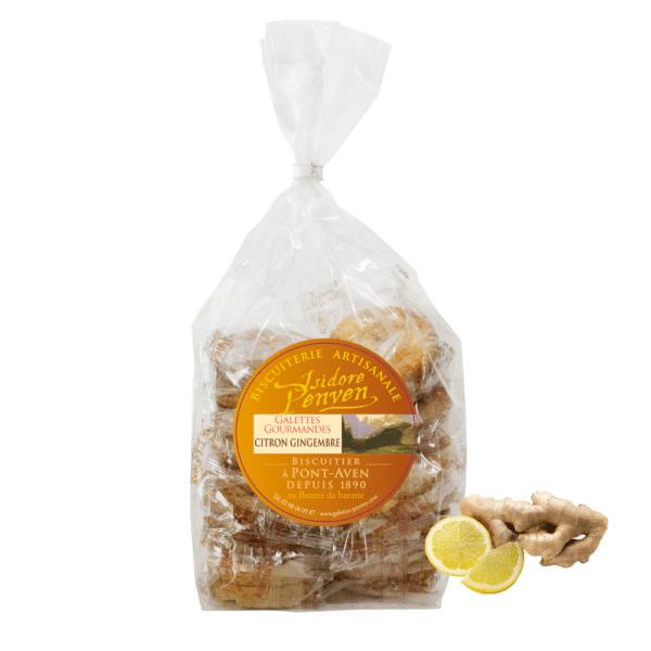 palet breton citron gingembre
