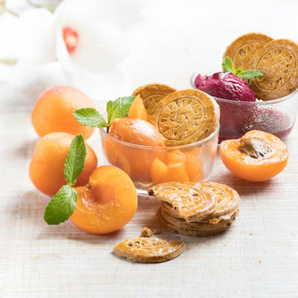 galette fine abricot