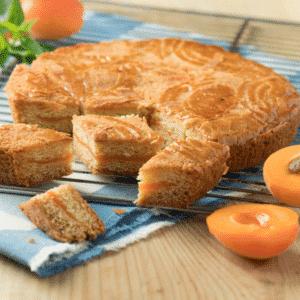Gâteau breton à l'abricot