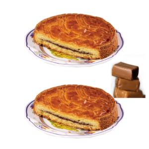 lot gateau breton caramel beurre salé