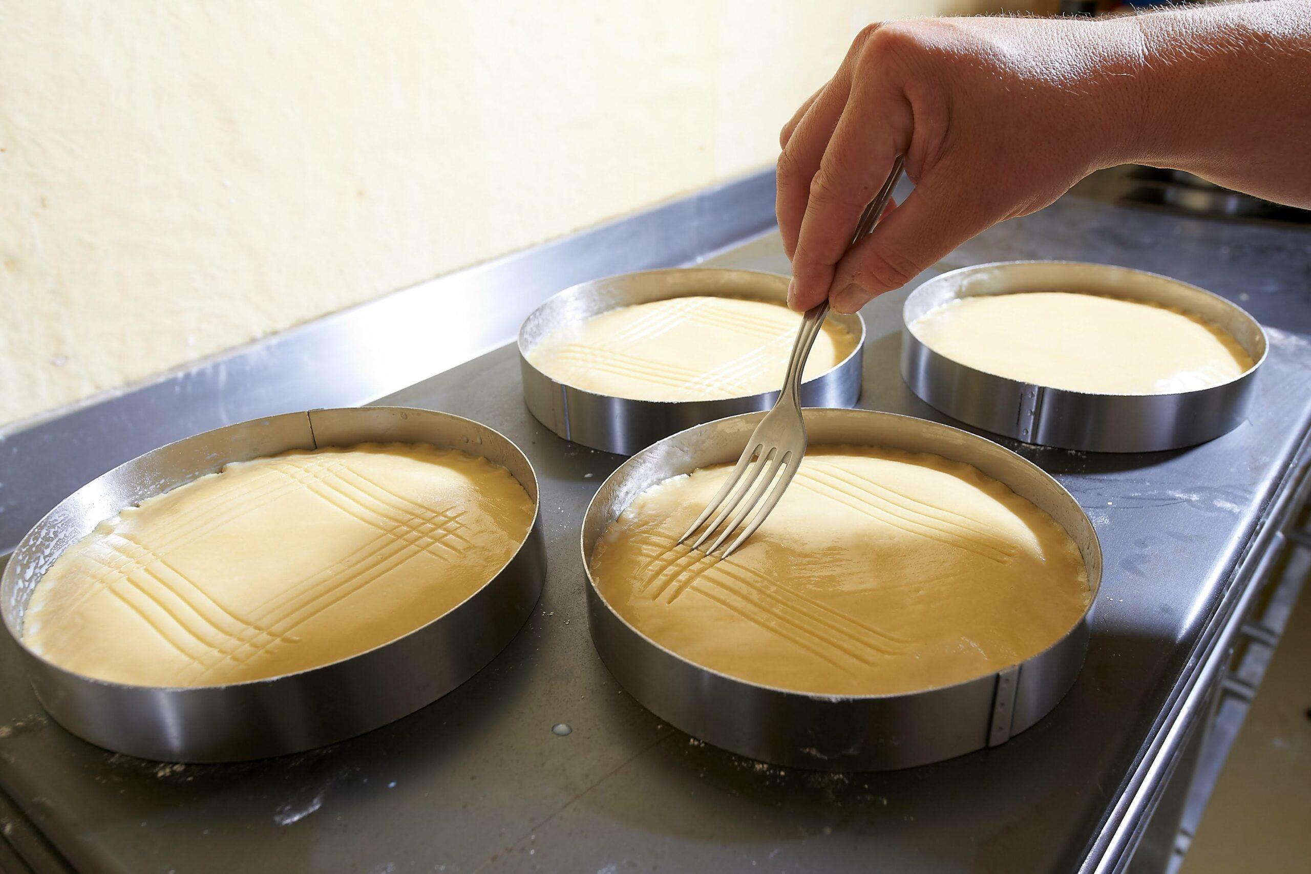 gâteau breton fourchette