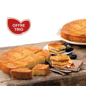 Trio gourmand - 3 Gâteaux bretons